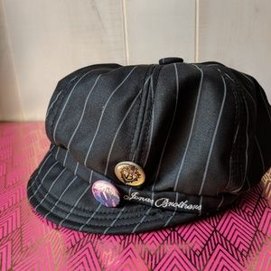 Jonas Brothers Insignia Hat Black Striped